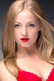 Ukrainian girl Ulia,25 years old with green eyes and blonde hair.