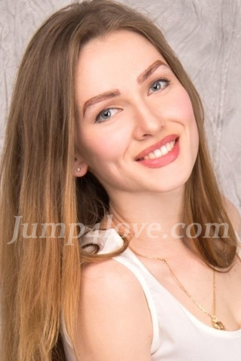 Ukrainian girl Svetlana,22 years old with blue eyes and dark brown hair. Svetlana