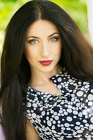 Ukrainian girl Ludmila,23 years old with green eyes and light brown hair.