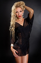Ukrainian girl Anna,28 years old with blue eyes and blonde hair.