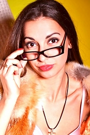 Ukrainian girl Nataliya,28 years old with brown eyes and dark brown hair.