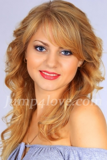 Ukrainian girl Anna,22 years old with blue eyes and blonde hair. Anna