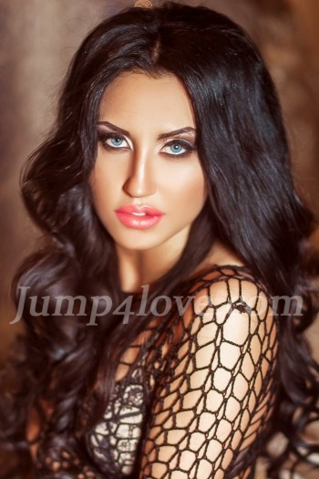Ukrainian girl Viki,24 years old with grey eyes and black hair. Viki