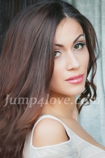 Ukrainian girl Vladislava,25 years old with green eyes and dark brown hair. Vladislava