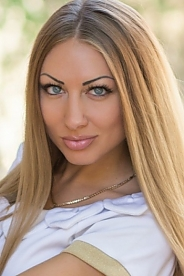 Ukrainian girl Ekaterina,26 years old with blue eyes and blonde hair.