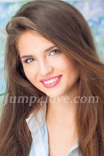 Ukrainian girl Kristina,22 years old with green eyes and light brown hair. Kristina