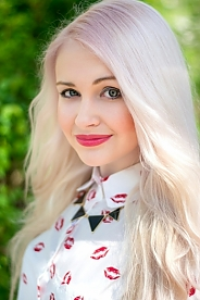 Ukrainian girl Arina,25 years old with green eyes and blonde hair.