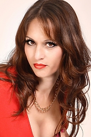 Ukrainian girl Marina,34 years old with brown eyes and dark brown hair.