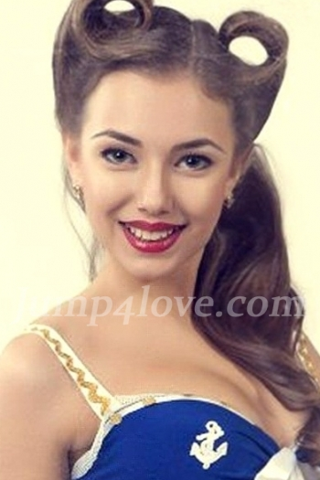 Ukrainian girl Anastasia,20 years old with blue eyes and light brown hair. Anastasia