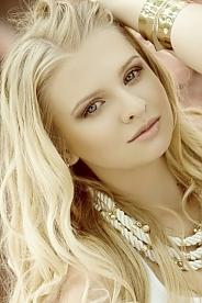 Ukrainian girl Karina,20 years old with blue eyes and blonde hair.