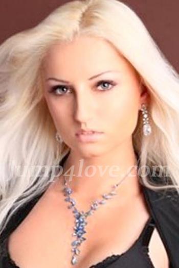 Ukrainian girl Irina,29 years old with grey eyes and blonde hair. Irina