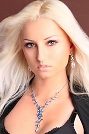 Ukrainian girl Irina,29 years old with grey eyes and blonde hair.