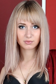Ukrainian girl Anna,19 years old with blue eyes and blonde hair.