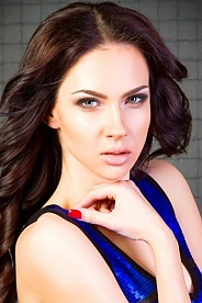 Ukrainian girl Inna,19 years old with green eyes and dark brown hair.