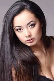 Ukrainian girl Natalia,24 years old with brown eyes and black hair.