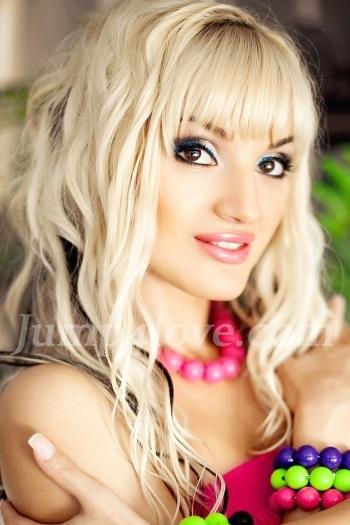 Ukrainian girl Marina,27 years old with brown eyes and blonde hair. Marina
