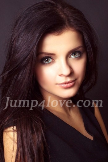Ukrainian girl Viktoria,18 years old with grey eyes and dark brown hair. Viktoria