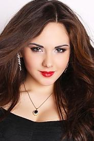 Ukrainian girl Yulia,19 years old with green eyes and dark brown hair.