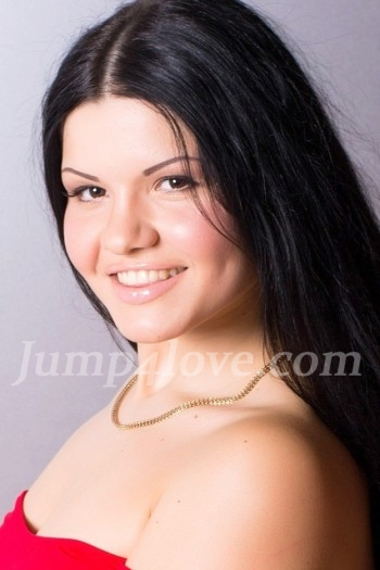 Ukrainian girl Daria,22 years old with brown eyes and black hair. Daria