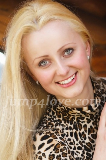 Ukrainian girl Anya,25 years old with blue eyes and blonde hair. Anya