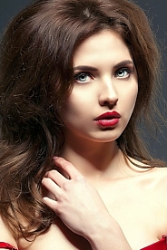 Ukrainian girl Victoria,23 years old with hazel eyes and light brown hair.
