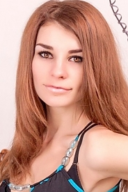 Ukrainian girl Karina,19 years old with brown eyes and light brown hair.