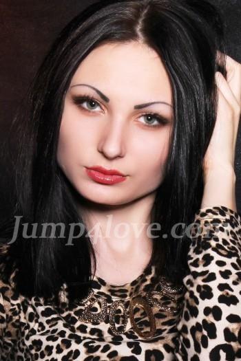 Ukrainian girl Anastasia,23 years old with green eyes and black hair. Anastasia