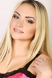 Ukrainian girl Oksana,24 years old with green eyes and blonde hair.