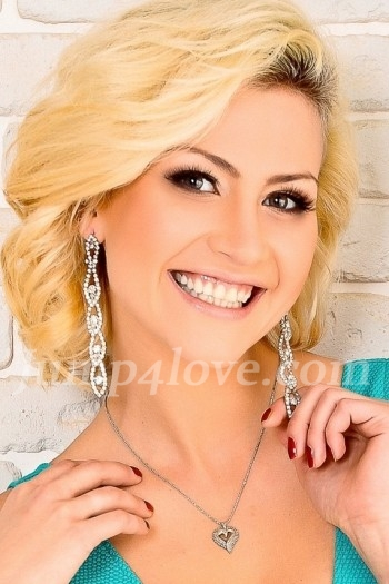Ukrainian girl Luchiana - Anastasia ,26 years old with brown eyes and blonde hair. Luchiana - Anastasia