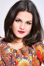Ukrainian girl Ekaterina,19 years old with brown eyes and dark brown hair.