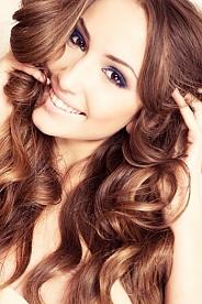 Ukrainian girl Juliya,19 years old with green eyes and black hair.