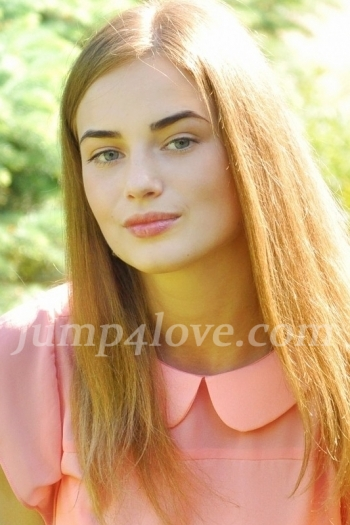 Ukrainian girl Alina,18 years old with green eyes and light brown hair. Alina