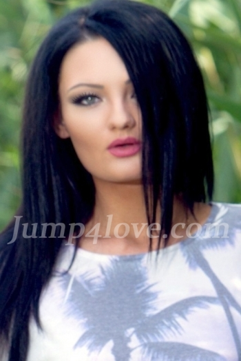 Ukrainian girl Victoriya,20 years old with blue eyes and black hair. Victoriya