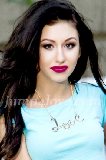 Ukrainian girl Diana,18 years old with brown eyes and black hair. Diana
